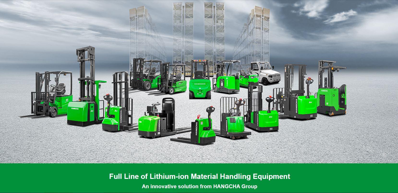 Piedmont Forklift Lithium Ion Products Meet Emission Standards (704) 872-3904
